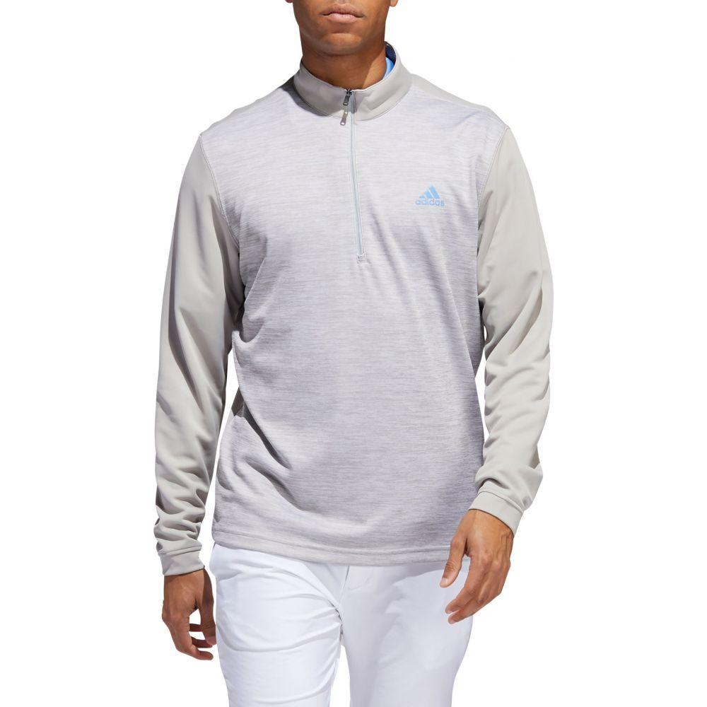 アディダス adidas メンズ ゴルフ トップス【Core Golf 1/4 Zip】Gray