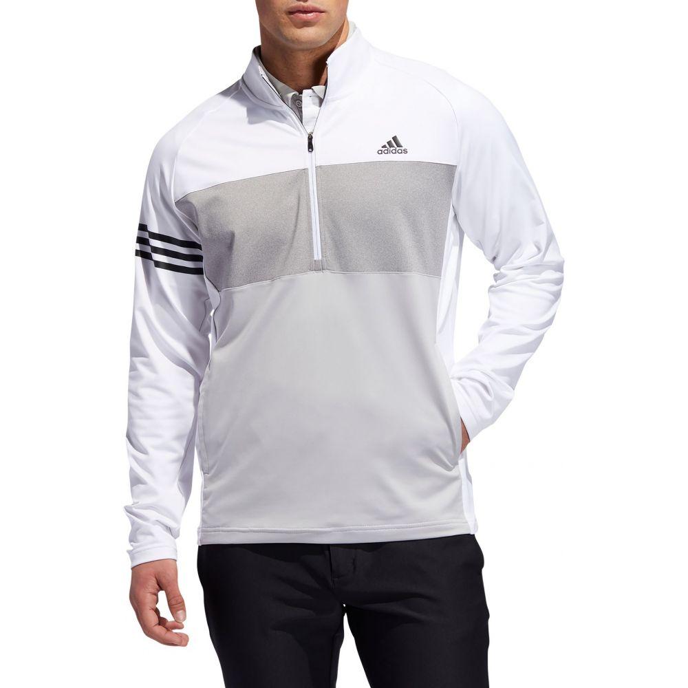 アディダス adidas メンズ ゴルフ トップス【Competition 1/4 Zip Golf Pullover】White
