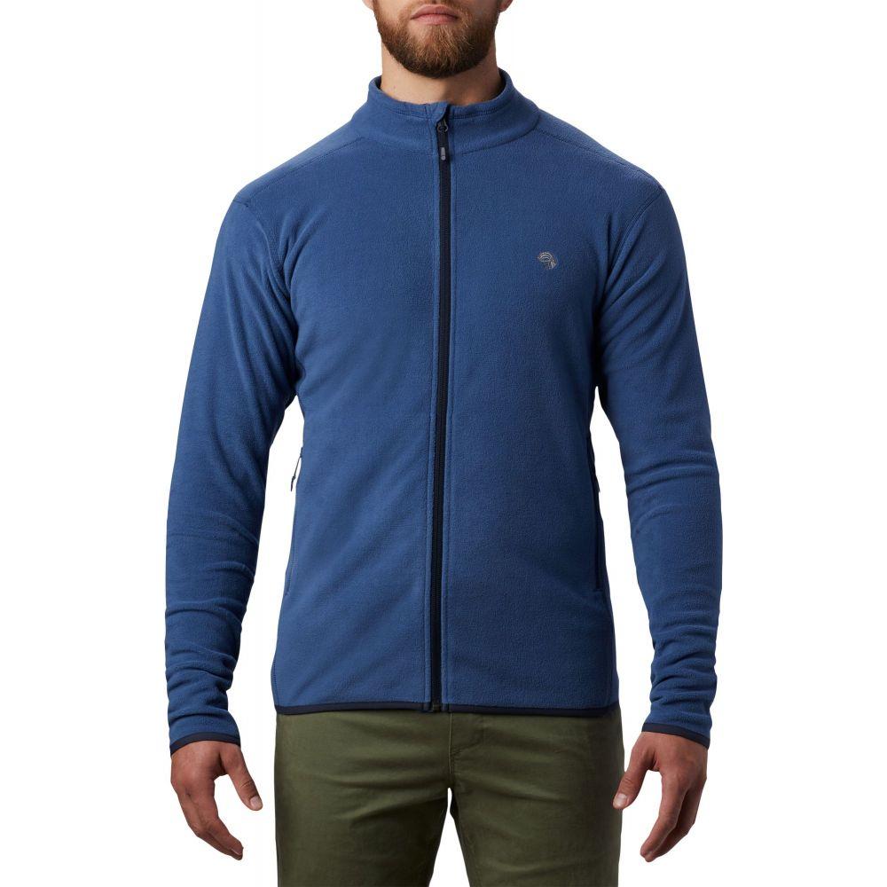 マウンテンハードウェア Mountain Hardwear メンズ ジャケット アウター【Macrochill Full Zip Jacket】Better Blue
