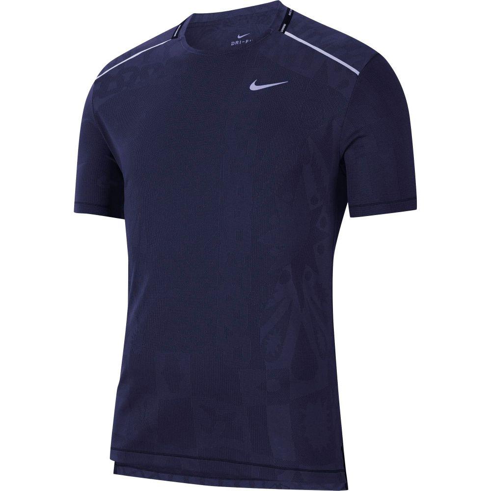 ナイキ Nike メンズ ランニング・ウォーキング トップス【TechKnit Wild Short Sleeve Running T-Shirt】Imperial Purple