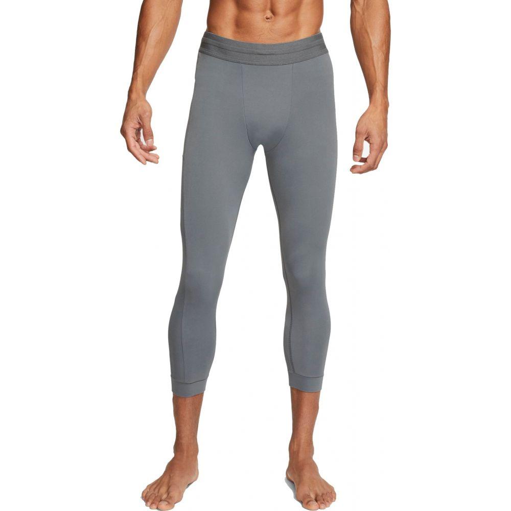 ナイキ Nike メンズ ヨガ・ピラティス タイツ・スパッツ ボトムス・パンツ【3/4 Yoga Tights】Iron Grey