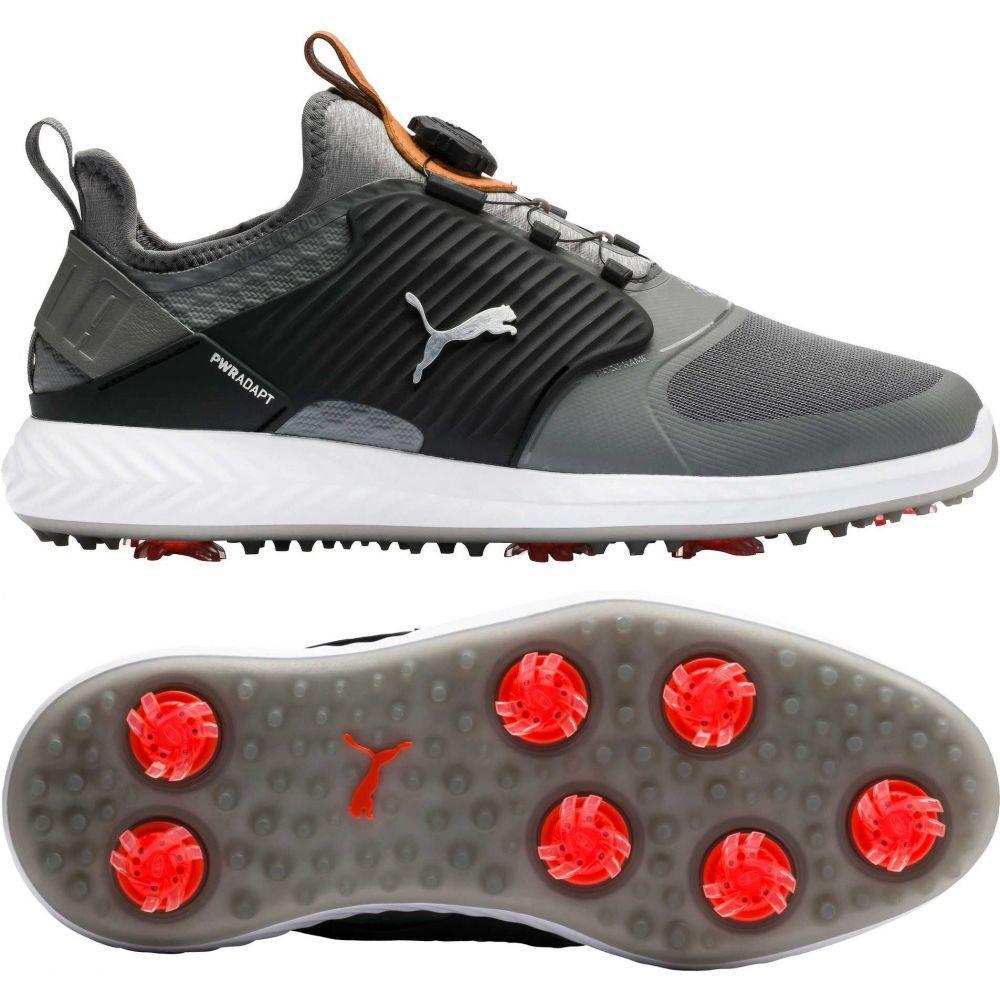 プーマ PUMA メンズ ゴルフ シューズ・靴【IGNITE PWRADAPT Caged DISC Golf Shoes】Quiet Shade/Black