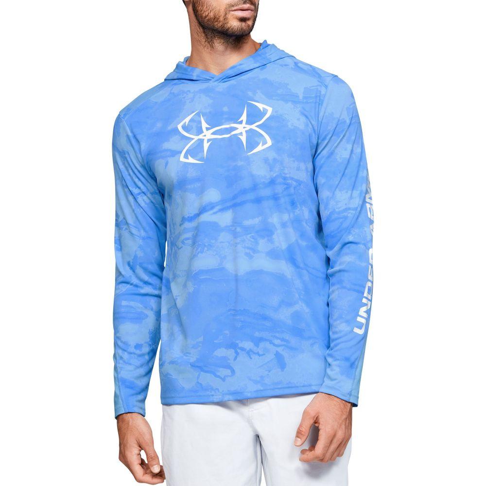 アンダーアーマー Under Armour メンズ 釣り・フィッシング トップス【Isochill Break Camo Fishing (Regular and Big & Tall)】Carolina Blue