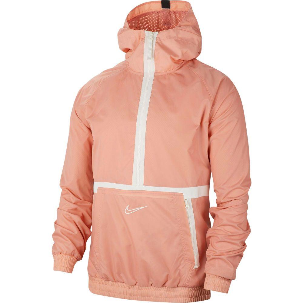 ナイキ Nike メンズ バスケットボール ハーフジップ パーカー トップス【DNA 1/2 Zip Basketball Hoodie】Pink Quartz/Sail