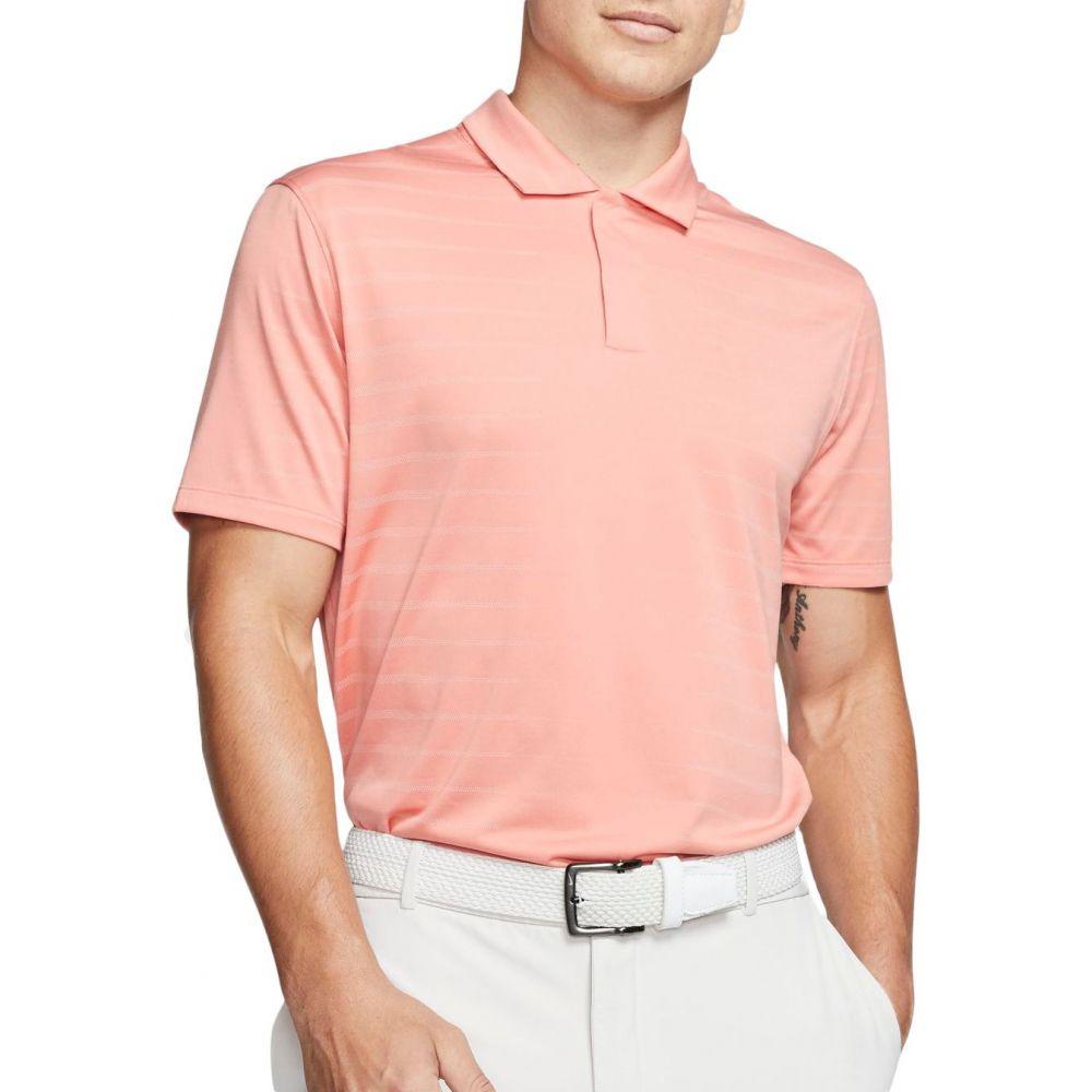 ナイキ Nike メンズ ゴルフ ポロシャツ トップス【Tiger Woods Novelty Golf Polo】Pink Quartz