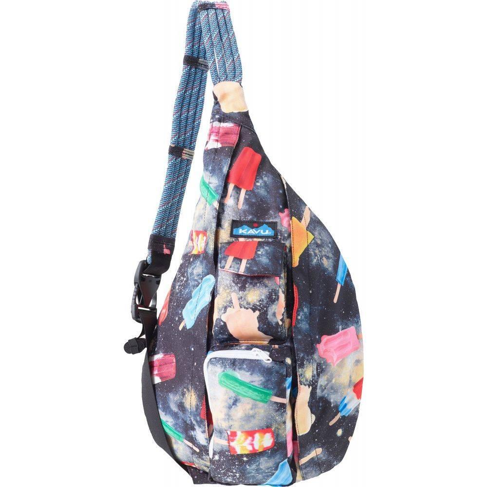 カブー KAVU ユニセックス ショルダーバッグ バッグ【Rope Sling Bag】Space Pop