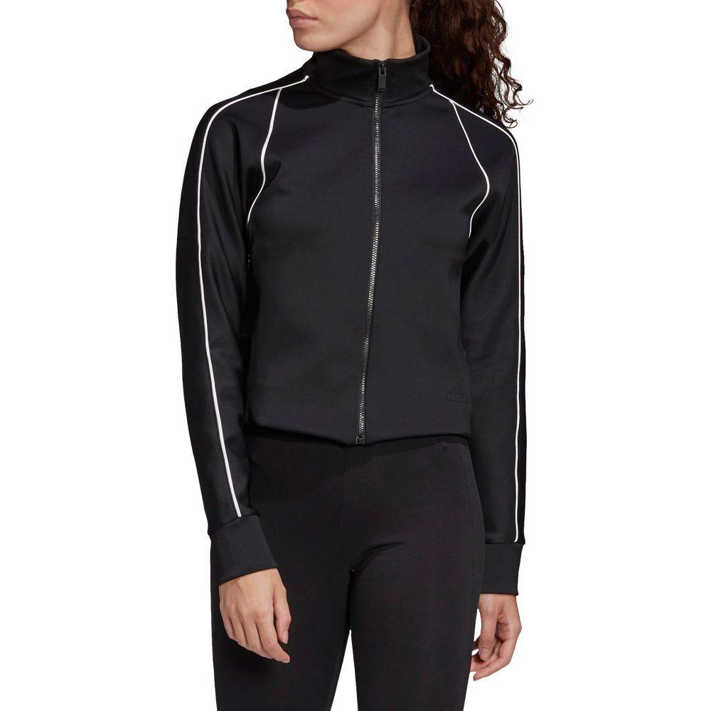 アディダス adidas レディース ジャージ アウター【Style Track Jacket】Black