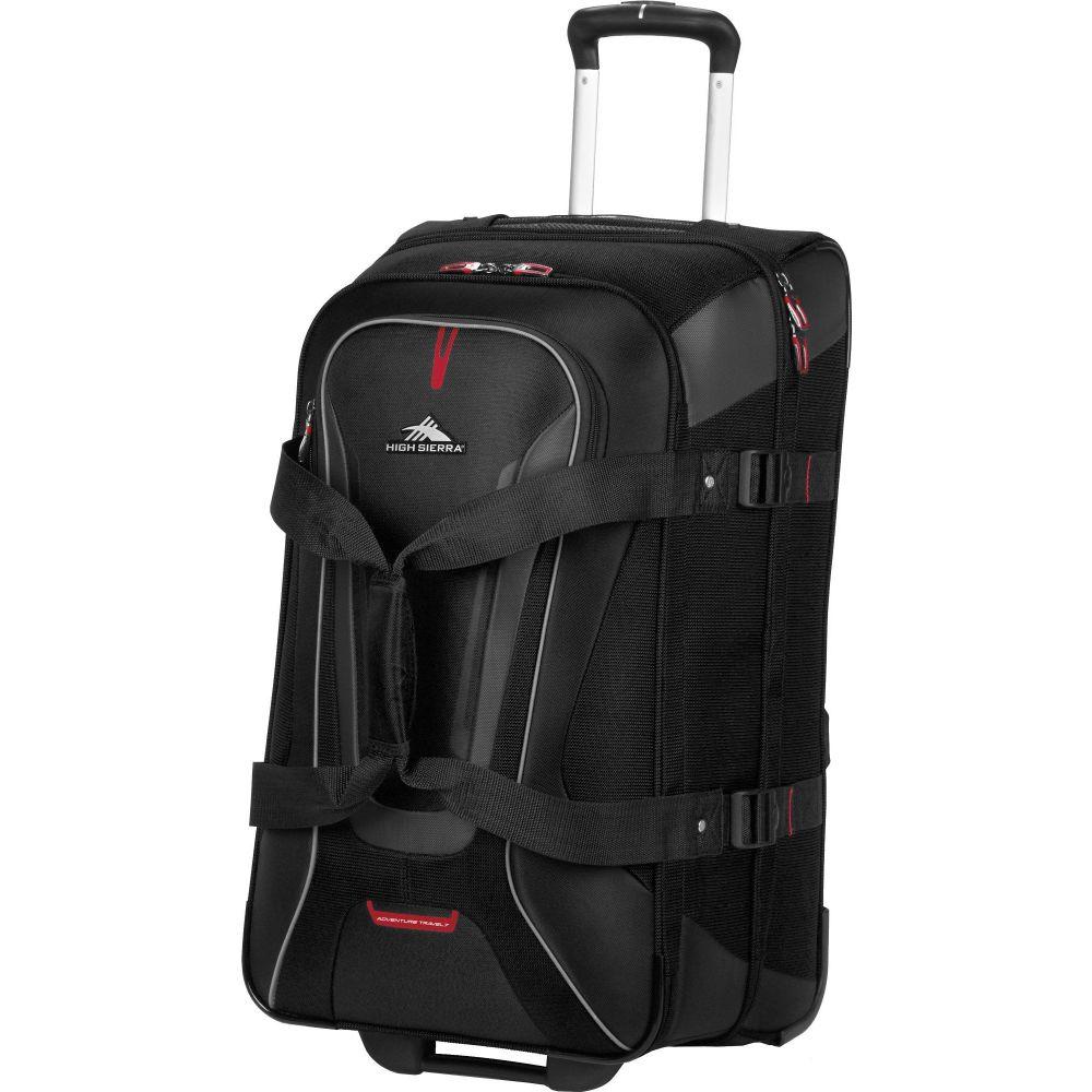 ハイシエラ High Sierra ユニセックス スーツケース・キャリーバッグ バッグ【AT7 26'' Wheeled Duffle】Black