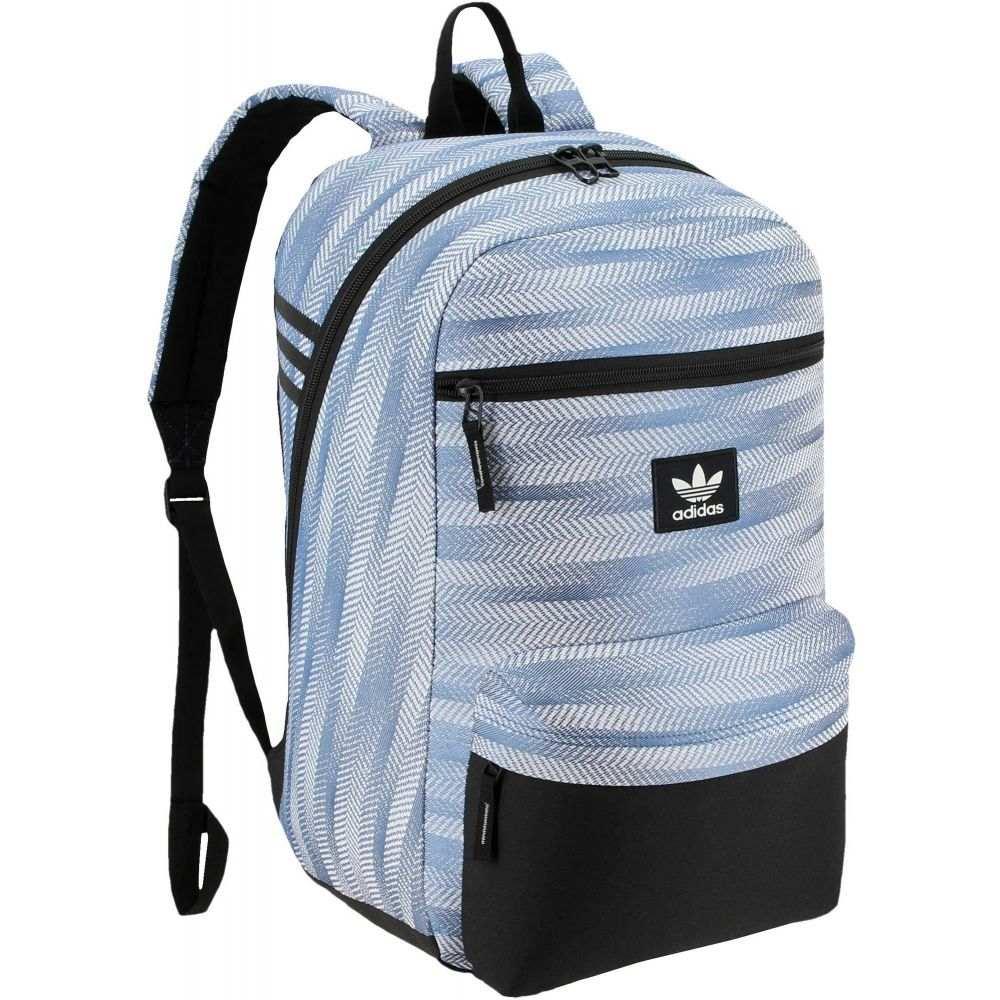 アディダス adidas ユニセックス バックパック・リュック バッグ【Originals National Plus Backpack】Ratio Jacquard Core Blue