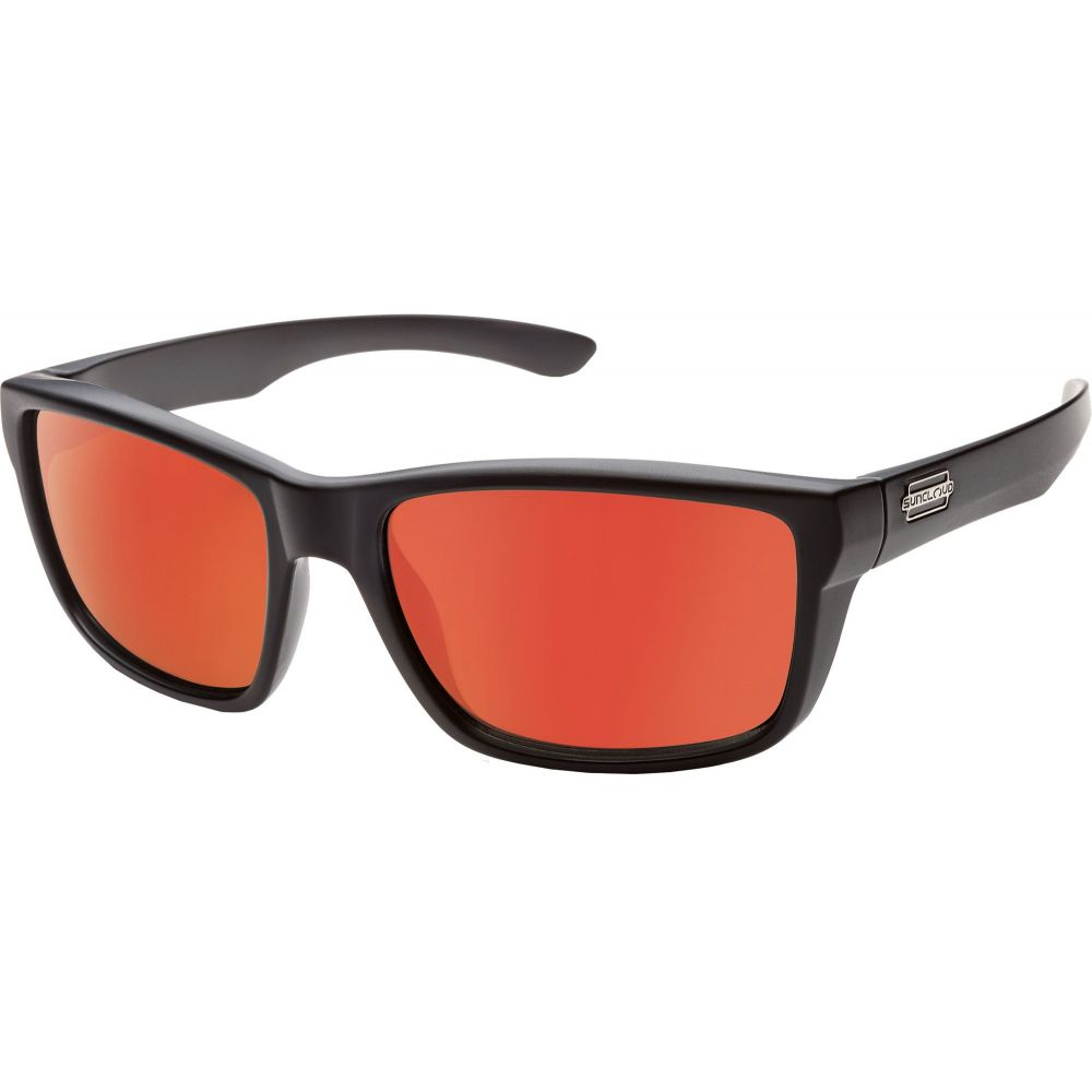 サンクラウド SUNCLOUD OPTICS ユニセックス メガネ・サングラス 【Suncloud Optics Adult Mayor Mirrored Polarized Sunglasses】Black/Orange