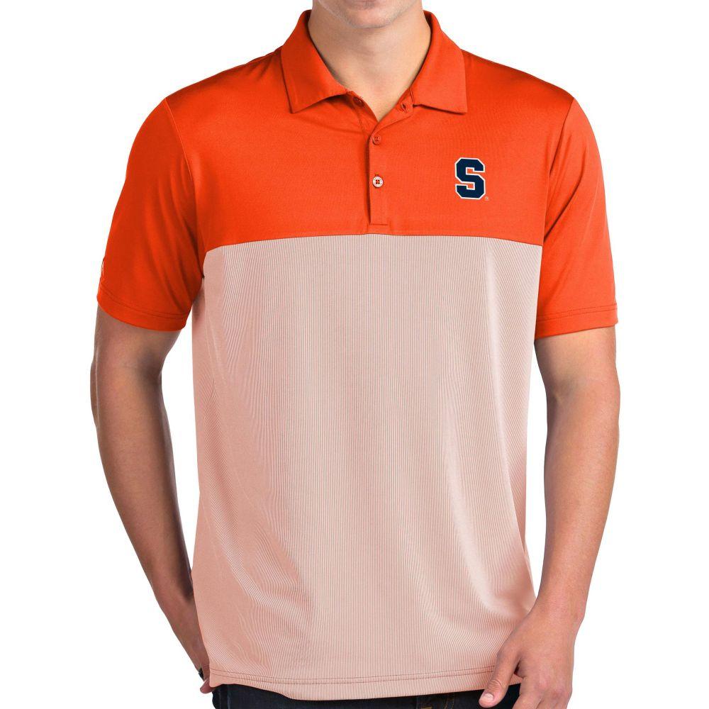 アンティグア Antigua メンズ ポロシャツ トップス【Syracuse Orange Orange Venture Polo】