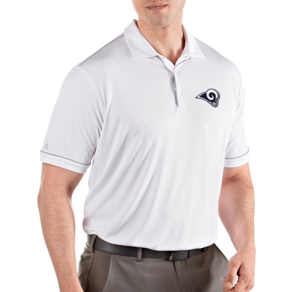アンティグア Antigua メンズ ポロシャツ トップス【Los Angeles Rams Salute White Polo】