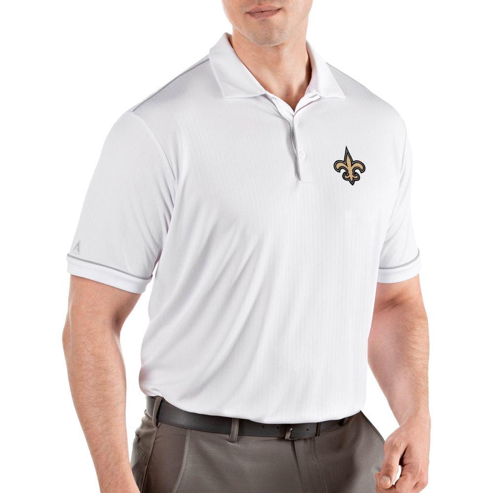 アンティグア Antigua メンズ ポロシャツ トップス【New Orleans Saints Salute White Polo】