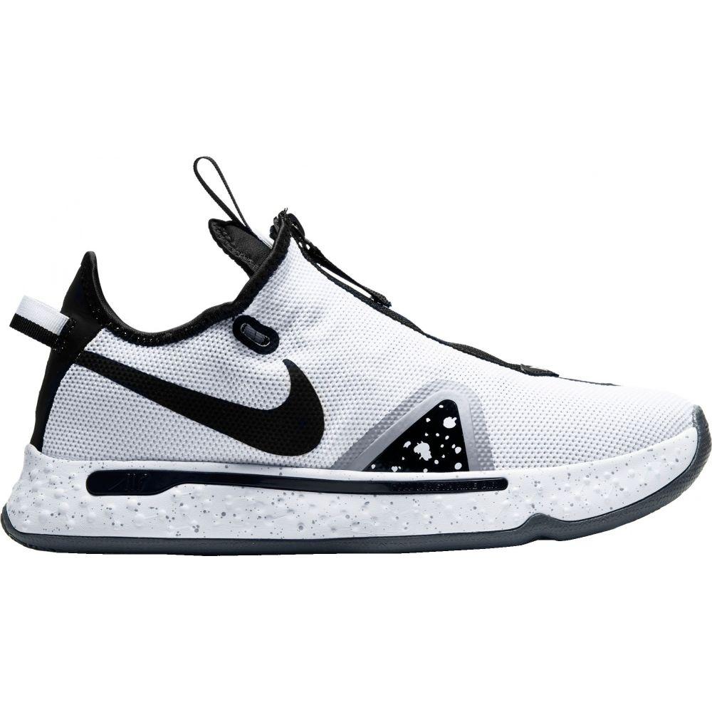 ナイキ Nike メンズ バスケットボール シューズ・靴【PG4 Basketball Shoes】Wht/Blk/Platinum
