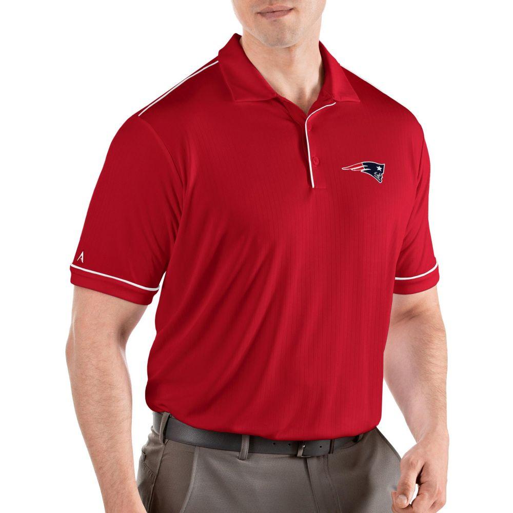 アンティグア Antigua メンズ ポロシャツ トップス【New England Patriots Salute Red Polo】