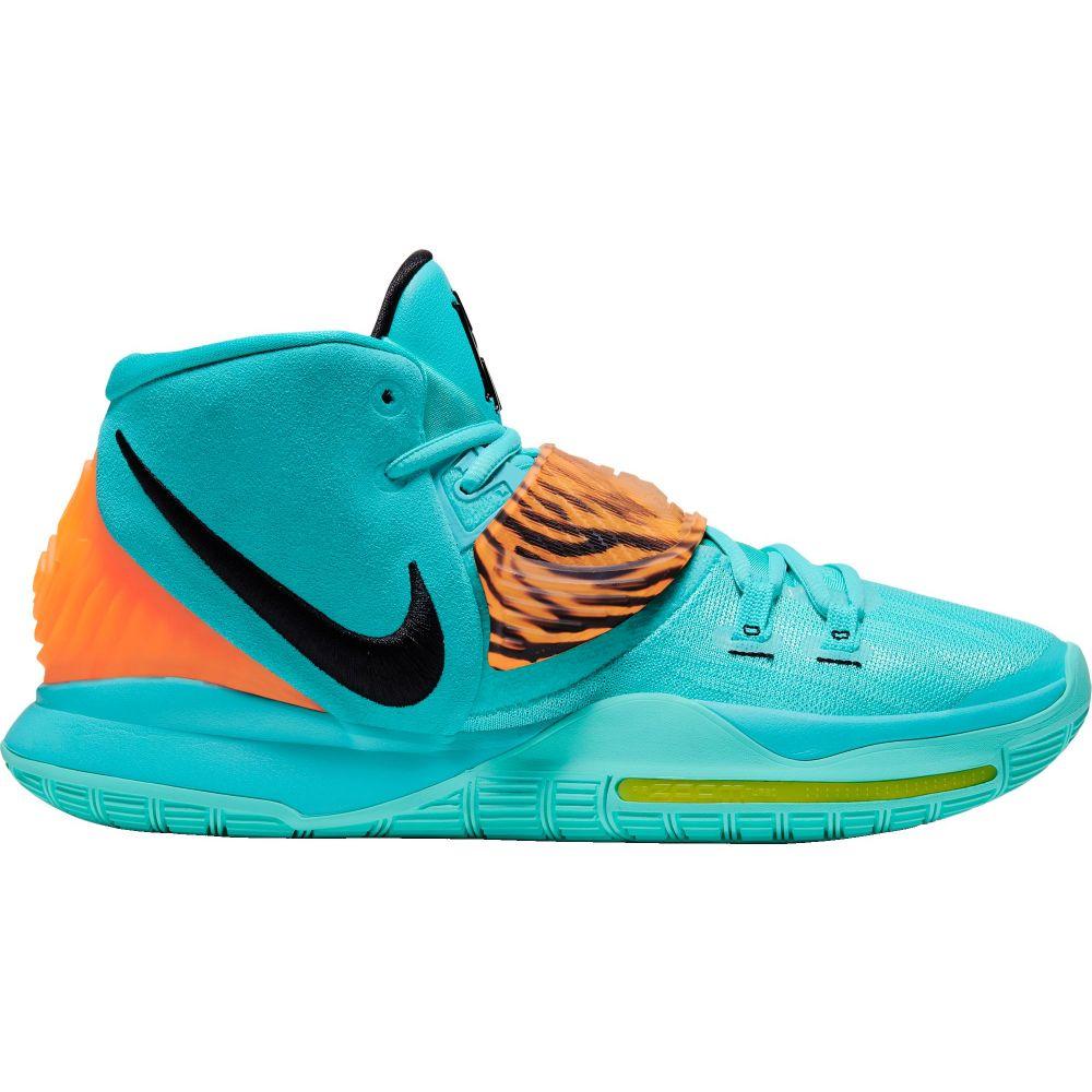 ナイキ Nike メンズ バスケットボール シューズ・靴【Kyrie 6 Basketball Shoes】Aqua/Orange