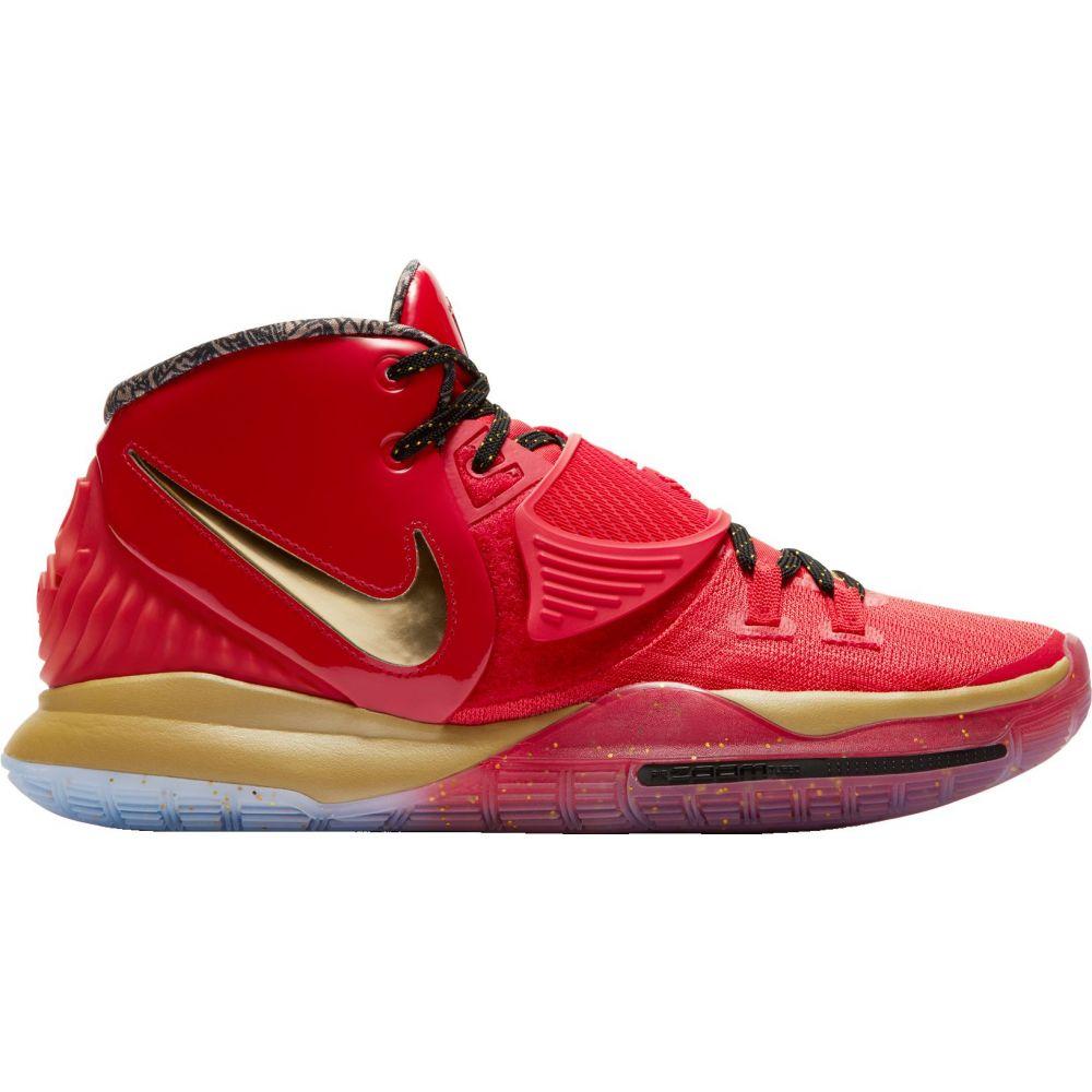 ナイキ Nike メンズ バスケットボール シューズ・靴【Kyrie 6 Basketball Shoes】Red/Gold