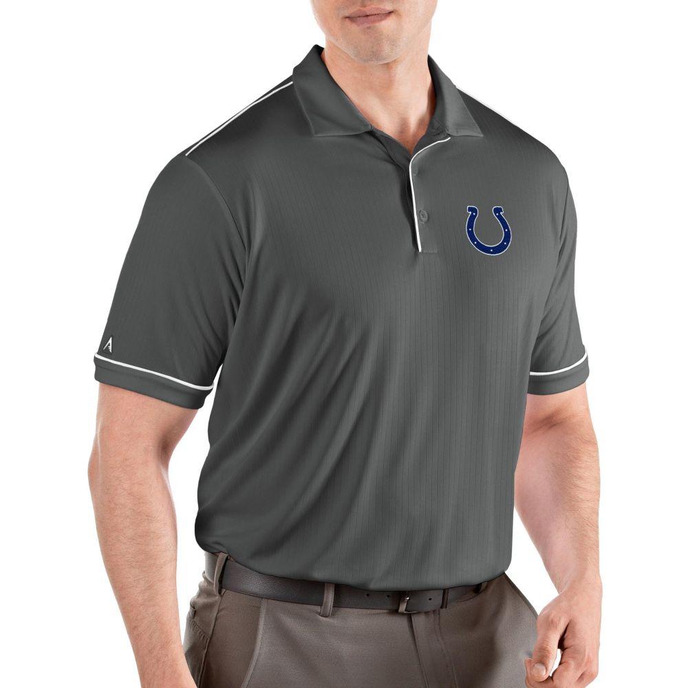 アンティグア Antigua メンズ ポロシャツ トップス【Indianapolis Colts Salute Grey Polo】