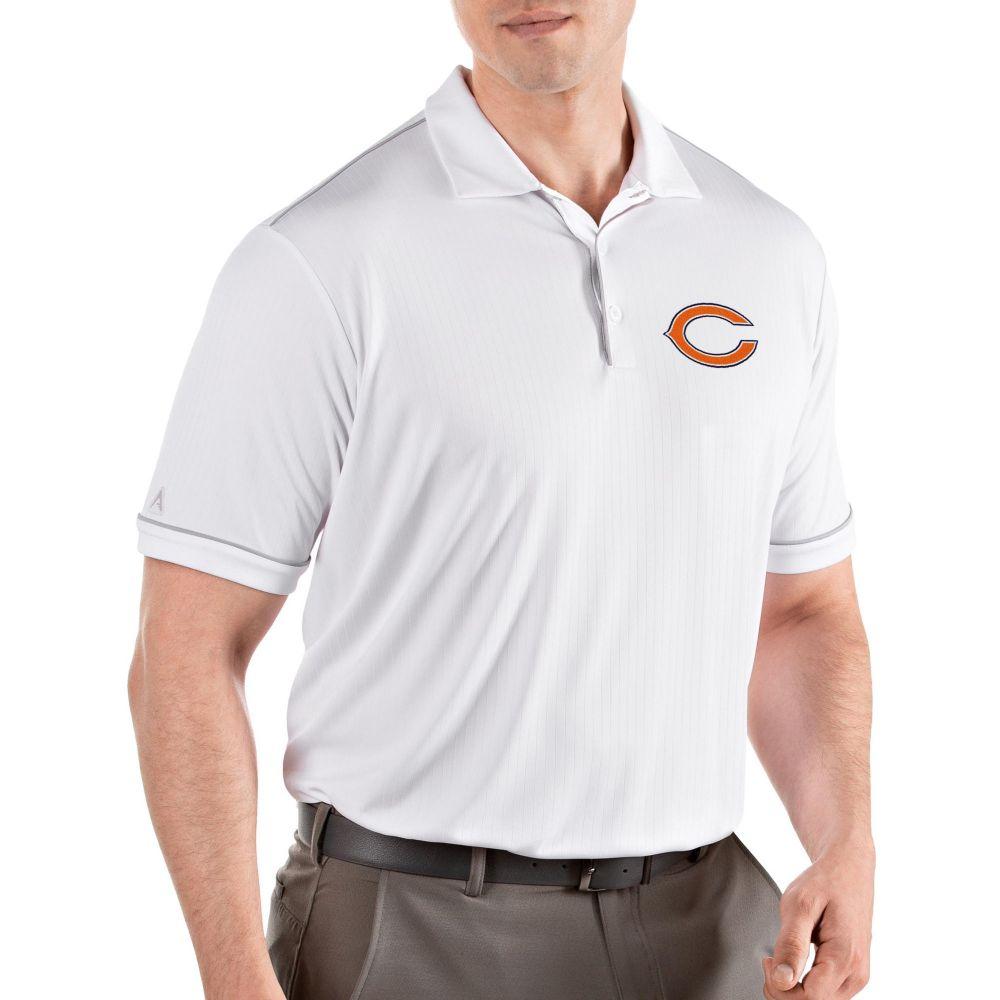 アンティグア Antigua メンズ ポロシャツ トップス【Chicago Bears Salute White Polo】