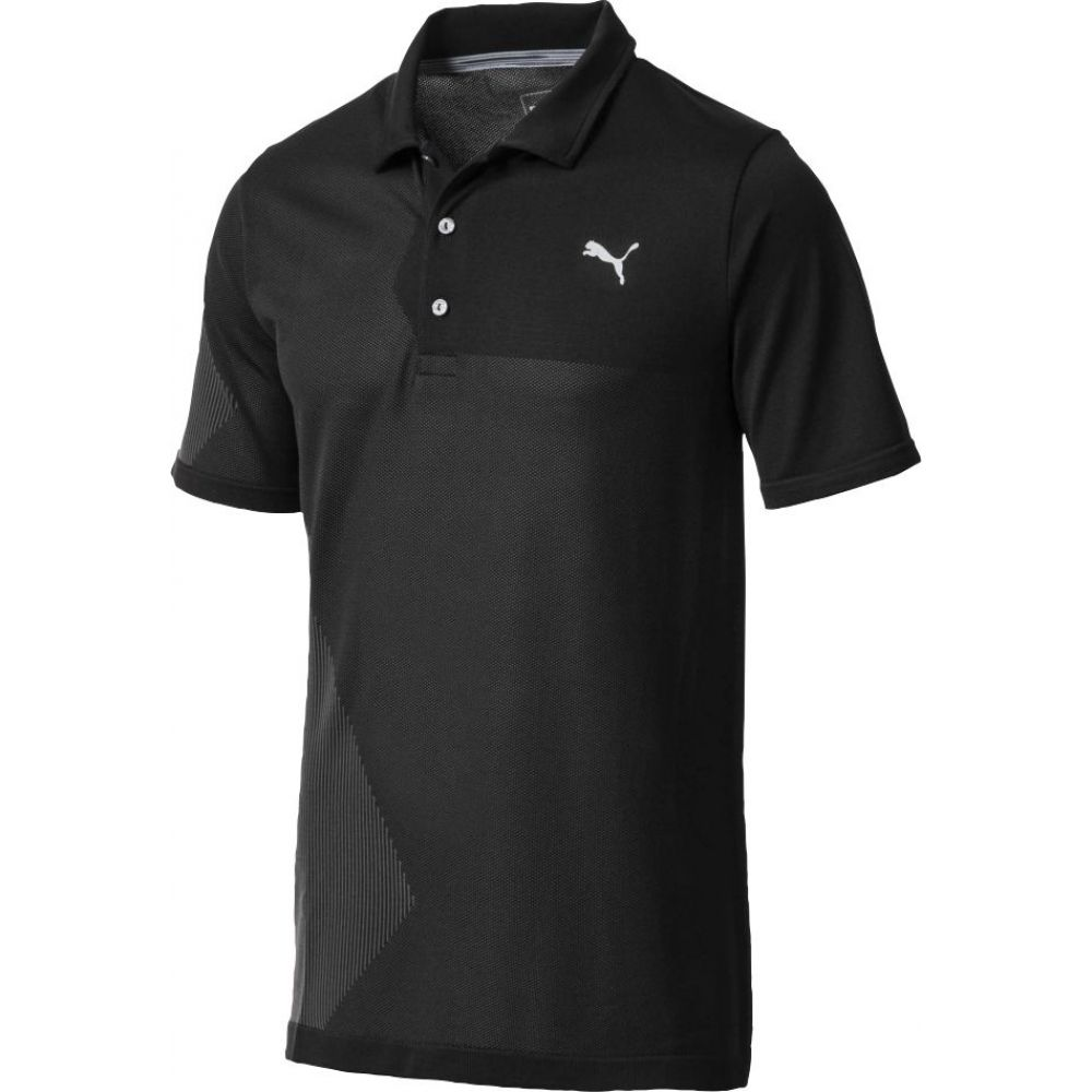 プーマ PUMA メンズ ゴルフ トップス【Evoknit Dassler Golf Polo】Puma Black