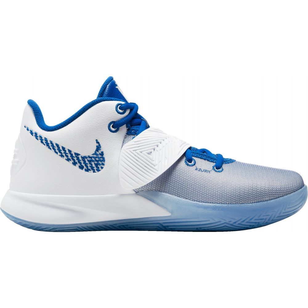 ナイキ Nike メンズ バスケットボール シューズ・靴【Kyrie Flytrap III Basketball Shoes】White/Pure Platinum