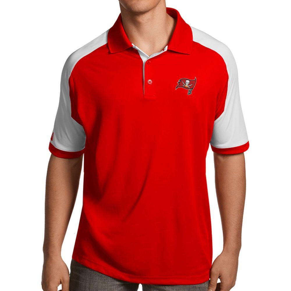 アンティグア Antigua メンズ ポロシャツ トップス【Tampa Bay Buccaneers Century Red Polo】