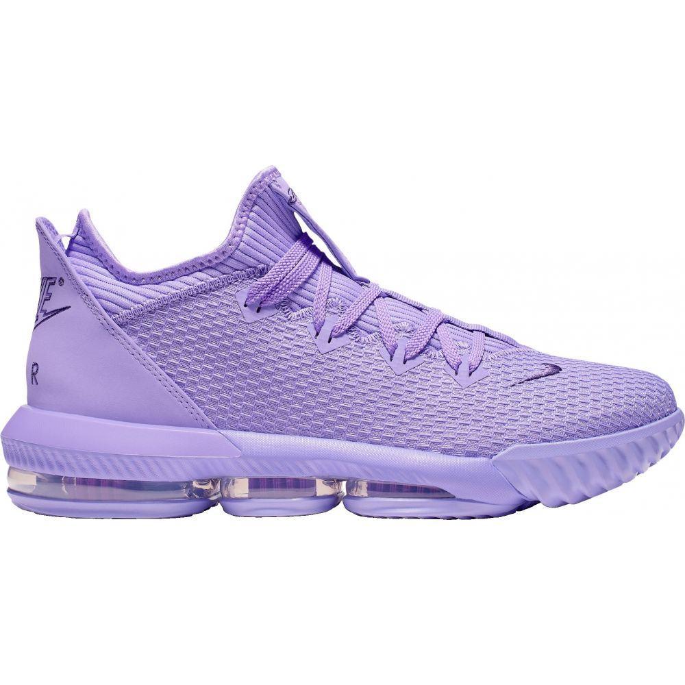 ナイキ Nike メンズ バスケットボール シューズ・靴【LeBron 16 Low Basketball Shoes】Violet/Court Purple