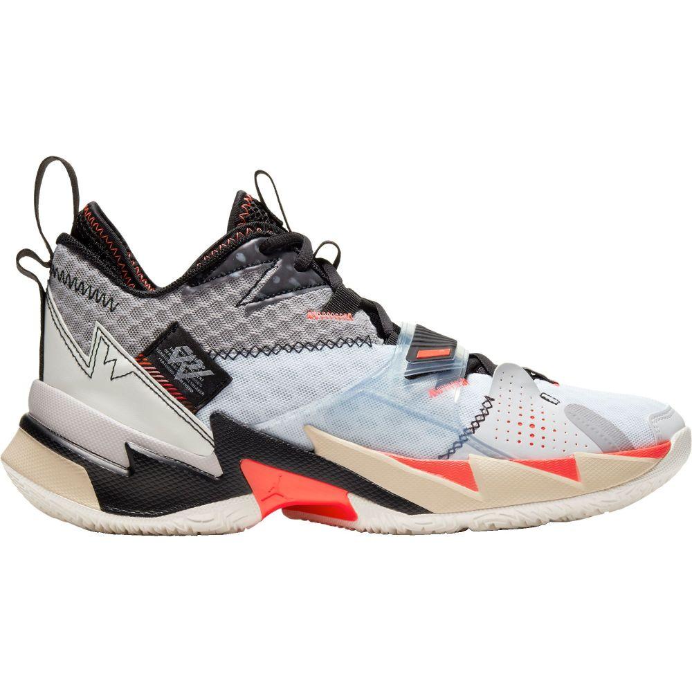 ナイキ ジョーダン Jordan メンズ バスケットボール シューズ・靴【Why Not Zer0.3 Basketball Shoes】White/Red