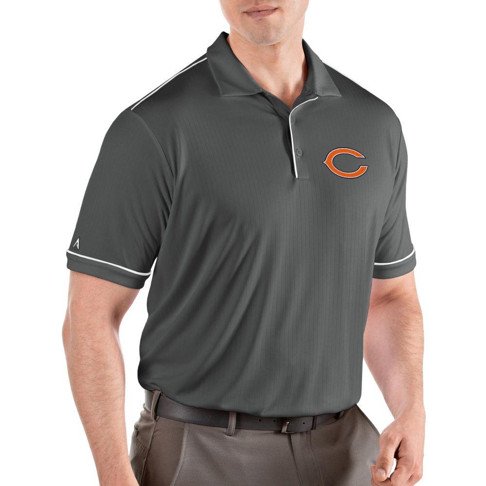アンティグア Antigua メンズ ポロシャツ トップス【Chicago Bears Salute Grey Polo】
