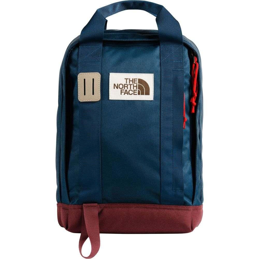 ザ ノースフェイス The North Face ユニセックス バックパック・リュック バッグ【Heritage Tote Backpack】Blue Wing Teal/Barolo Red