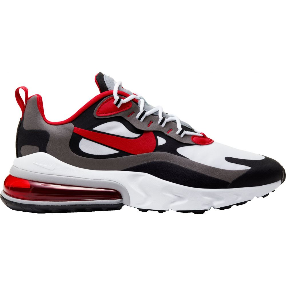 ナイキ Nike メンズ シューズ・靴 【Air Max 270 React Shoes】Blk/Red/Wht/Iron Gry