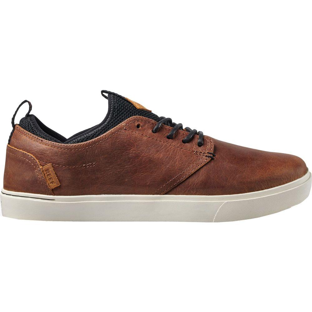 リーフ Reef メンズ シューズ・靴 【Discovery Leather Casual Shoes】Brown