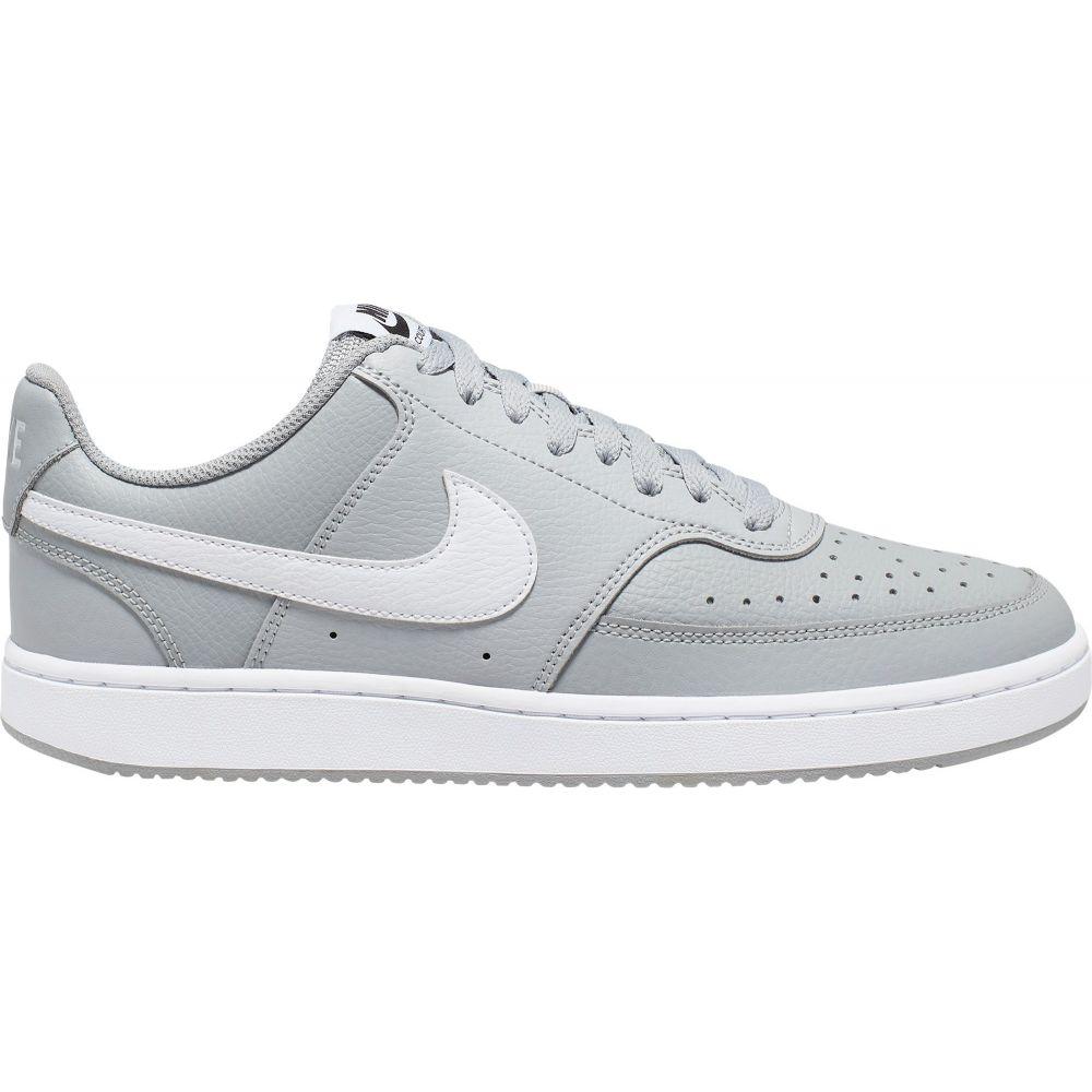 ナイキ Nike メンズ スニーカー シューズ・靴【Court Vision Shoes】Grey/White/Black
