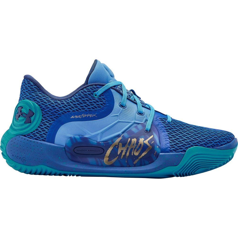 アンダーアーマー Under Armour メンズ バスケットボール シューズ・靴【Spawn Low 2 Basketball Shoes】Versa Blue/Water