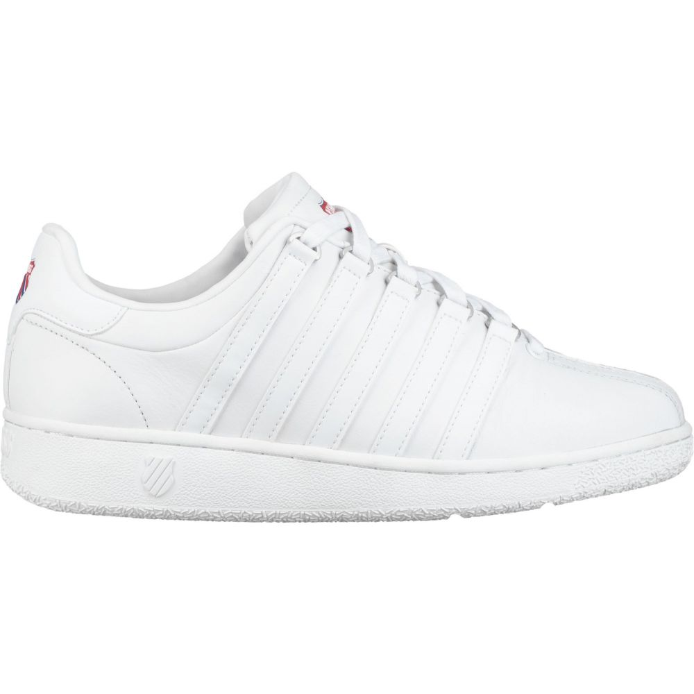 ケースイス K-Swiss メンズ スニーカー シューズ・靴【Classic VN Heritage Shoes】White/Blue/Red