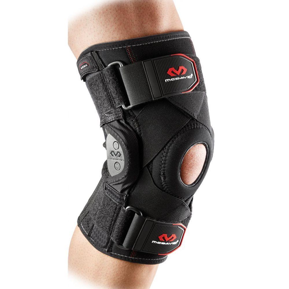 マクダビッド McDavid ユニセックス フィットネス・トレーニング サポーター【Hinged Knee Brace】Black