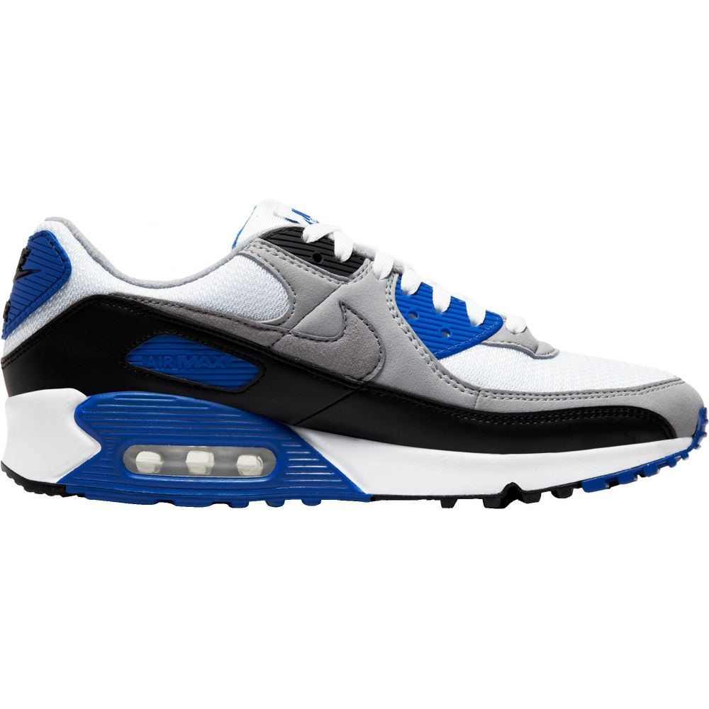 ナイキ Nike メンズ シューズ・靴 【Air Max 90 Shoes】White/Royal Blue