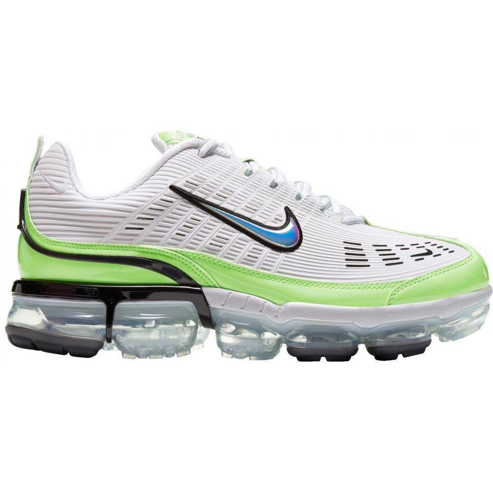 ナイキ Nike メンズ シューズ・靴 【Air Vapormax 360 Shoes】Wht/Grn/Mtlc Silv/Blk