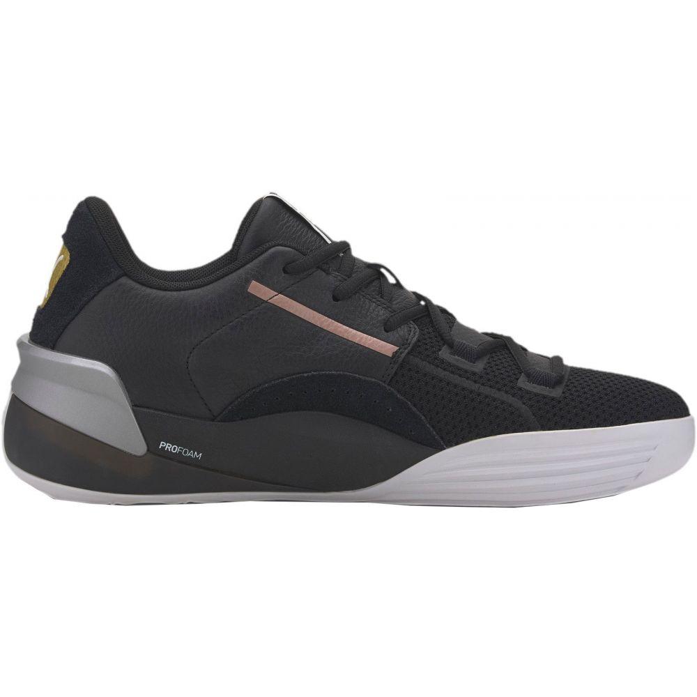 プーマ PUMA メンズ バスケットボール シューズ・靴【Clyde Hardwood Metallic Basketball Shoes】Black/Metallic