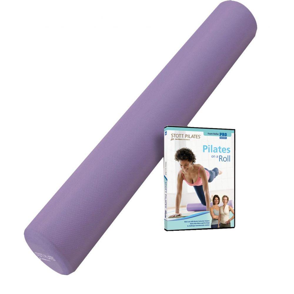 ストットピラティス STOTT PILATES ユニセックス フィットネス・トレーニング 【Foam Roller with Pilates DVD】
