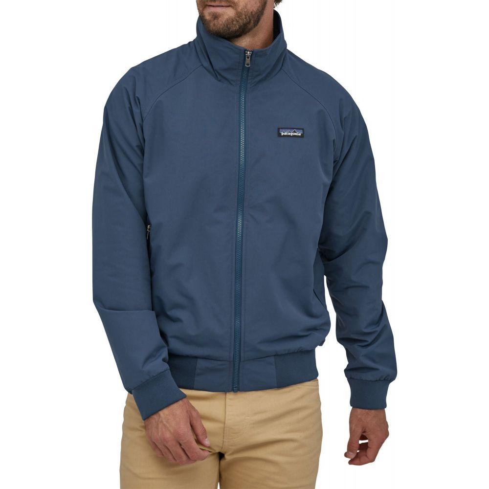 パタゴニア Patagonia メンズ ジャケット アウター【Baggies Full Zip Jacket】Stone Blue