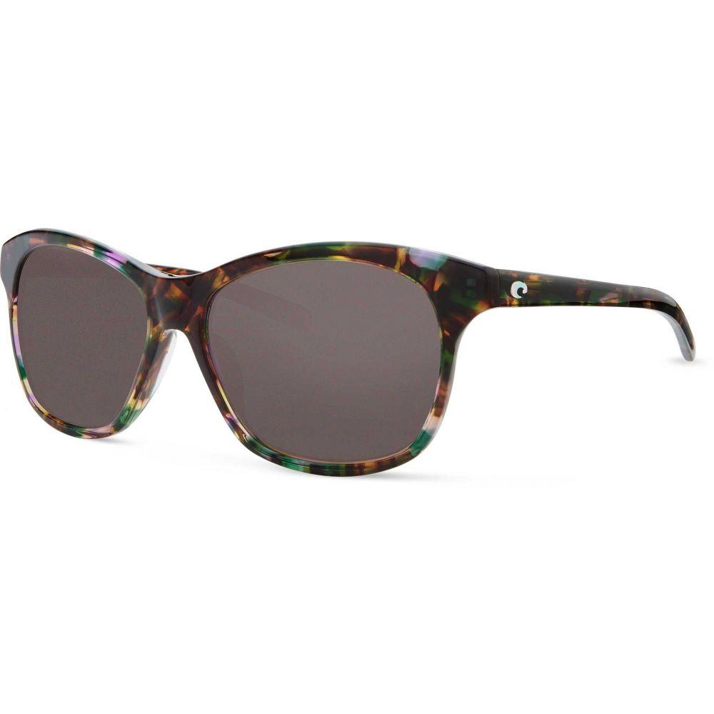 コスタデルメール Costa Del Mar ユニセックス メガネ・サングラス 【Sarasota 580G Polarized Sunglasses】Shiny Abalone/Gray