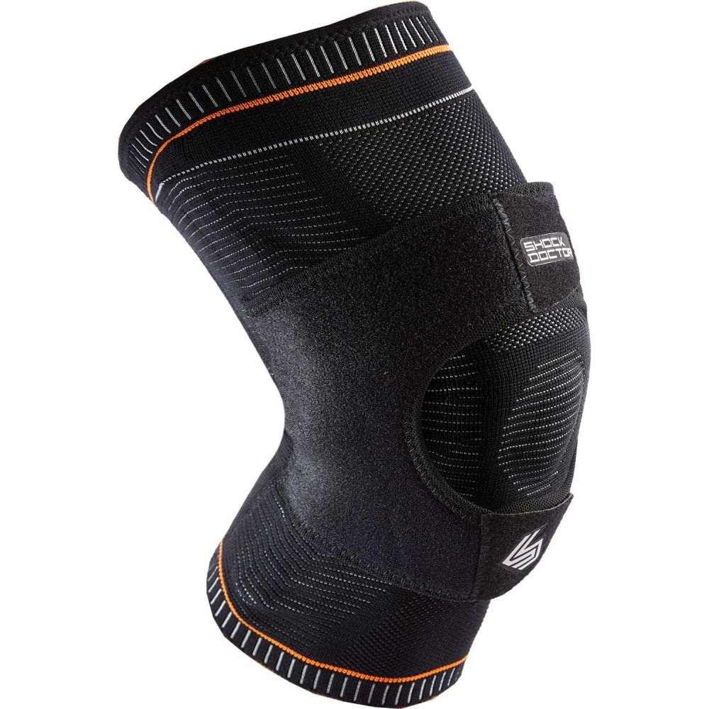 ショックドクター Shock Doctor ユニセックス フィットネス・トレーニング サポーター【Ultra Knit Knee Support with Dual Wrap】Black