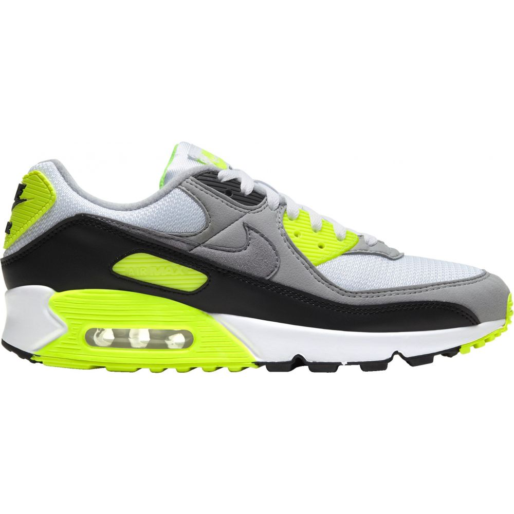ナイキ Nike メンズ シューズ・靴 【Air Max 90 Shoes】White/Volt/Black