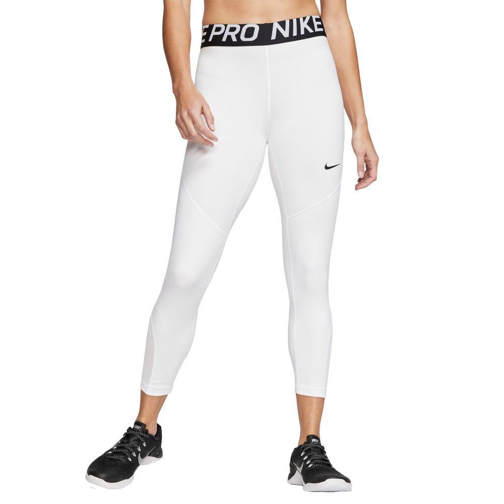 ナイキ Nike レディース ヨガ・ピラティス ボトムス・パンツ【Pro Cropped Leggings】White