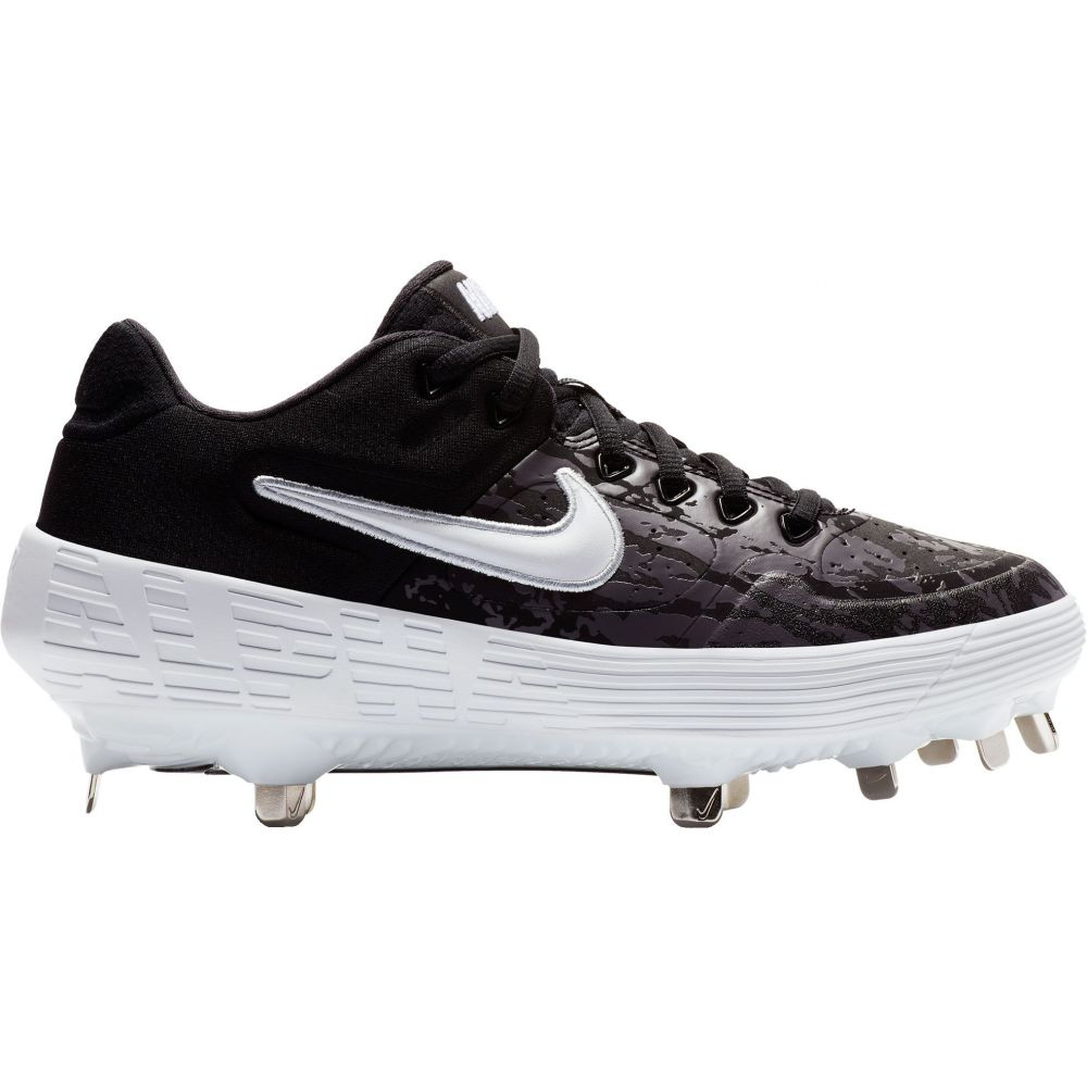ナイキ Nike レディース 野球 シューズ・靴【Alpha Huarache Elite 2 Fastpitch Softball Cleats】Black/Grey