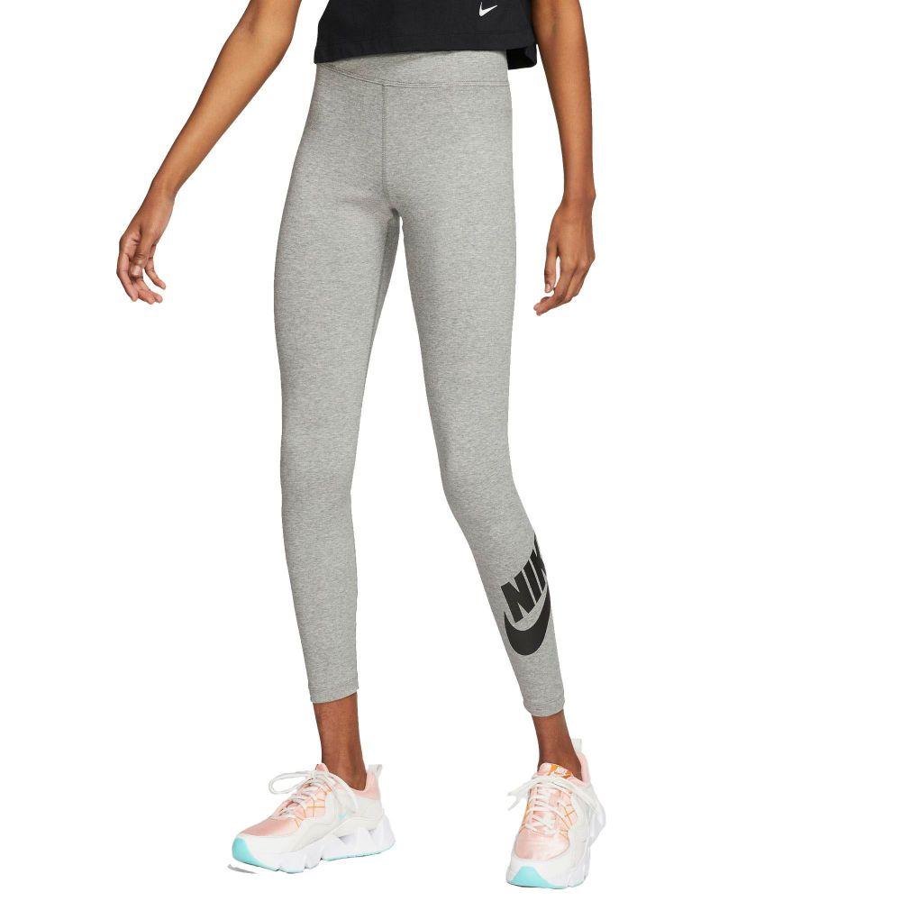 ナイキ Nike レディース ヨガ・ピラティス ボトムス・パンツ【High-Waisted Sportswear Leggings】Dk Grey Heather