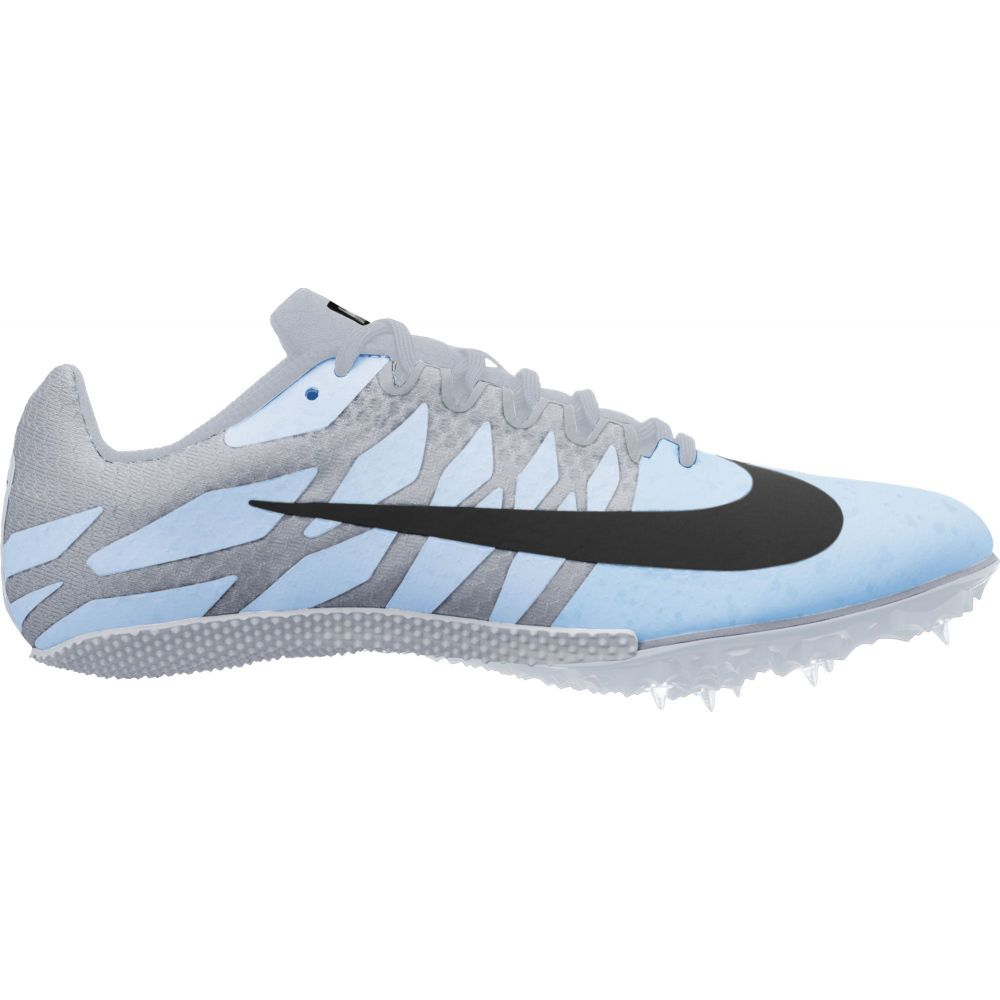 ナイキ Nike レディース 陸上 シューズ・靴【Zoom Rival S 9 Track and Field Shoes】Blue/Grey