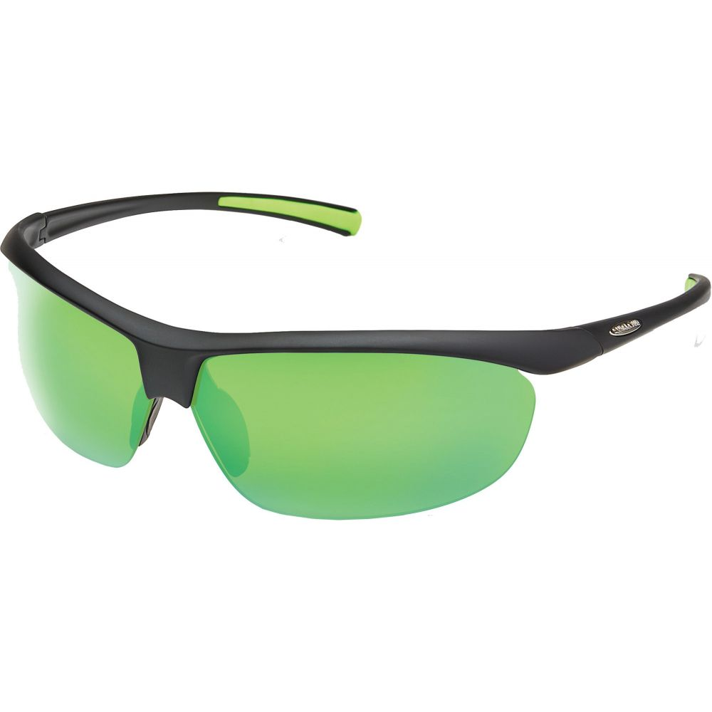 サンクラウド SUNCLOUD OPTICS ユニセックス メガネ・サングラス 【Suncloud Optics Zephyr Polarized Sunglasses】Black/Green