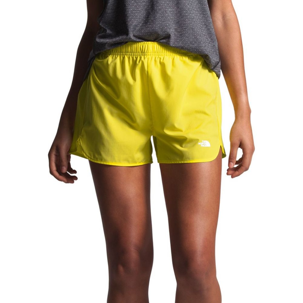 ザ ノースフェイス The North Face レディース ランニング・ウォーキング ボトムス・パンツ【Active Trail Running Shorts】Tnf Lemon